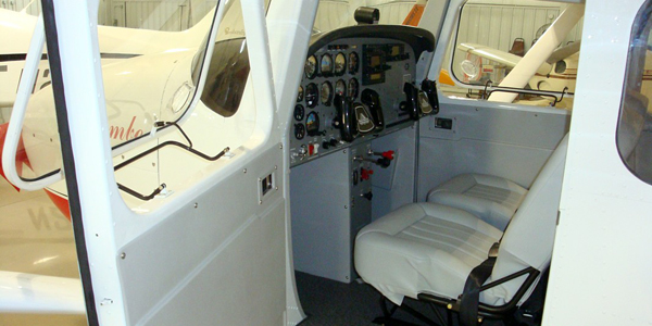 Interior View of Luscombe 511BW